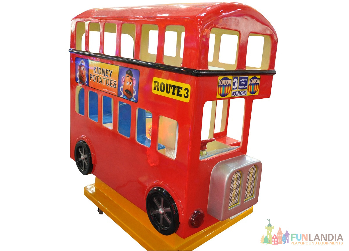 Kiddy Ride London Bus